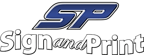 SP Sign & Print Logo